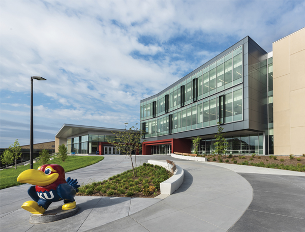 2019 Renovation & Construction Showcase: Frank R. Burge Union, University of Kansas