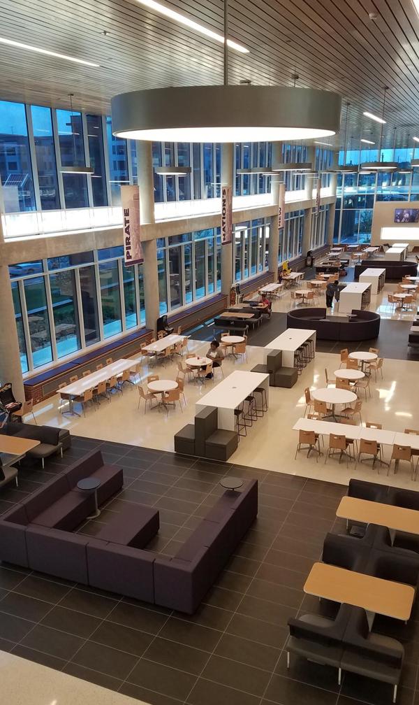 2020 Renovation Construction Showcase Main Campus Student Center East Carolina University