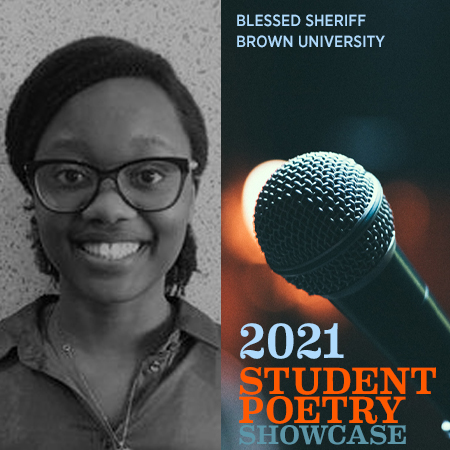 2021 Student Poetry Showcase: Blessed Sheriff