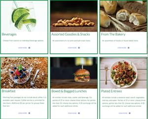 Colorado State's Interactive Menu Website