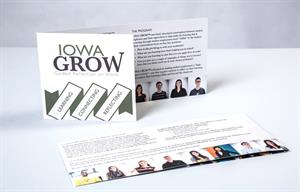 The University of Iowa's office of student life developed an entire marketing plan around its Iowa GROW program.