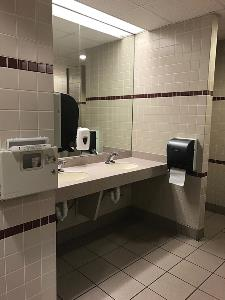 MSU Bathroom Interior