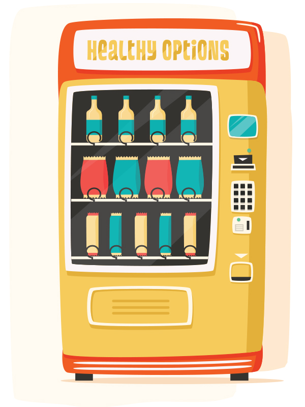 Maintaining Sales While Offering Healthier Options in Vending Machines: A Case Study