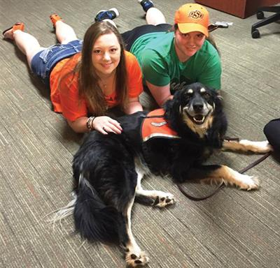 Pet Therapy at Oklahoma State University