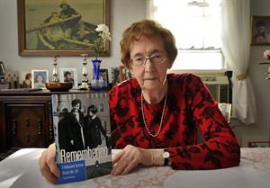 Thea's Pantry was named to honor Worcester grad, Holocaust survivor, and food insecurity activist Thea Aschkenase.