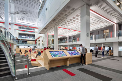 John A. and Marcia E. Curry Student Center, Northeastern University